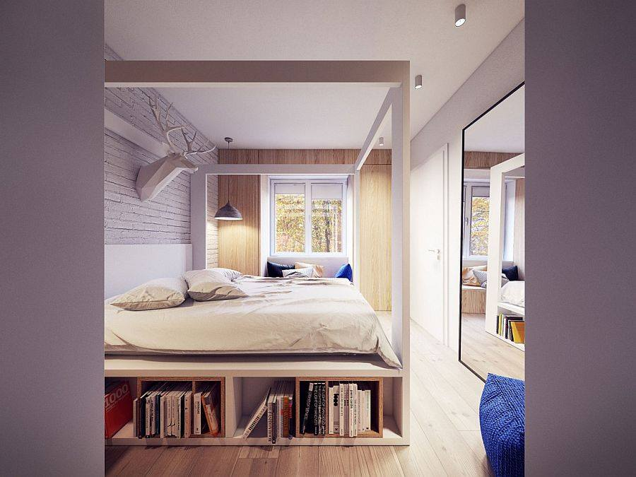 How To Design Endless Storage - 8 Tips For Tiny Flat Owners - Clever bedroom storage