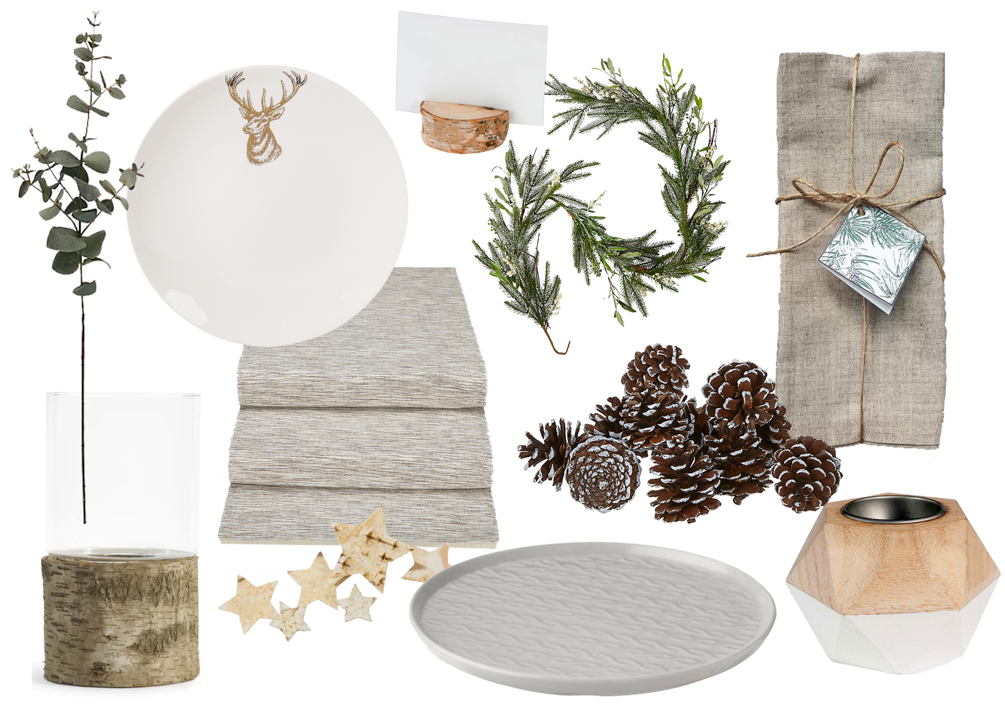 Be inspired By these 3 festive table ideas. Shop the look with the downloadable shopping lists. Enjoy!