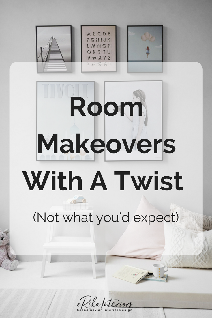 Room Makeovers with a twist - not what you'd expect