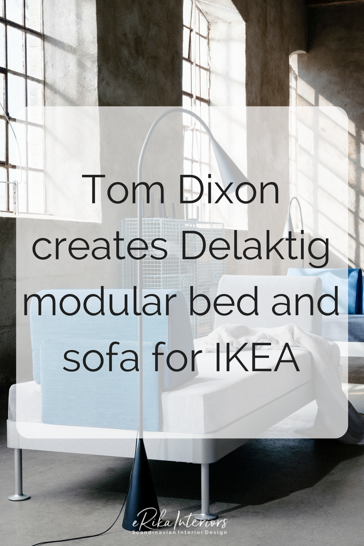 IKEA and Tom Dixon have revealed the results of their collaboration: a unique and versatile modular bed. Set to launch during Milan design week, Delaktig is a bed and sofa that can be modified into different styles of furniture throughout its lifetime. For many, the living room is now a place to eat, drink, relax and socialise, therefore, adaptable furniture is key. Tom Dixon has created a concept that I'm sure will revolutionise how we use furniture.